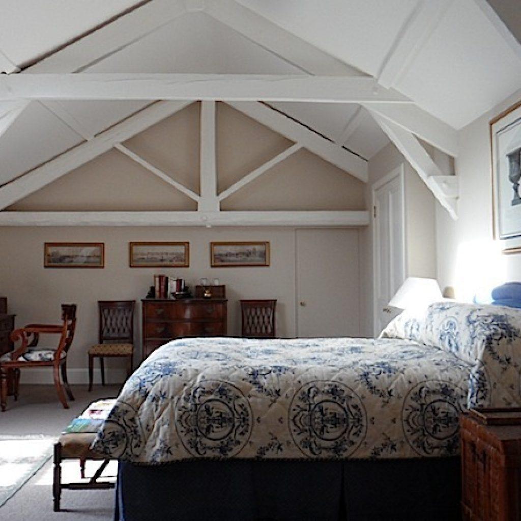 Attic Bedroom Old Devon Farmhouse