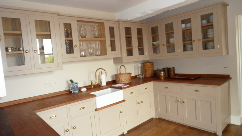 Designer Fitted Oak Kitchen Devon