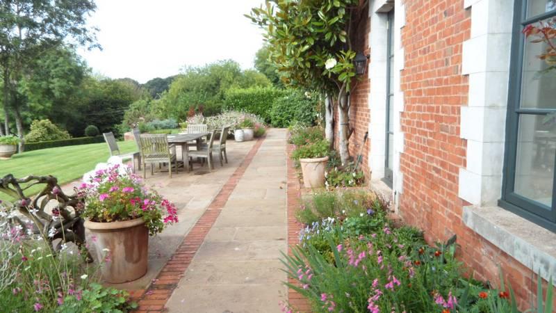 Devon Builders Garden Slabs