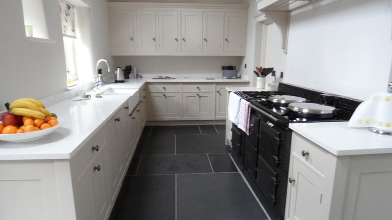 Floor Tiles Kitchen Slate Slab Flooring