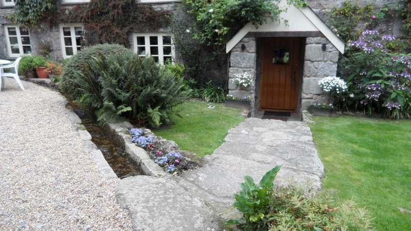 Granite Slab Patio Devon Builders