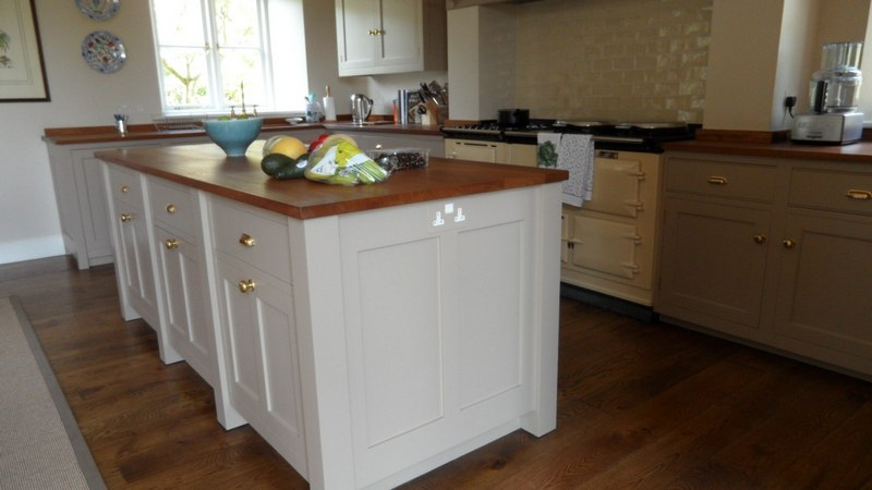 Oak Crafted Kitchen Units Devon Country Kitchen