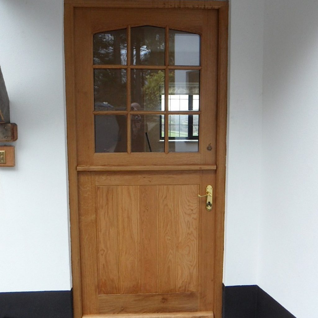 Oak Front Door Devon Joinery