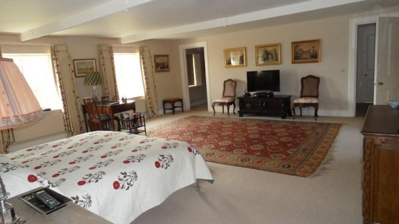 Old Fashioned Devonshire Bedroom