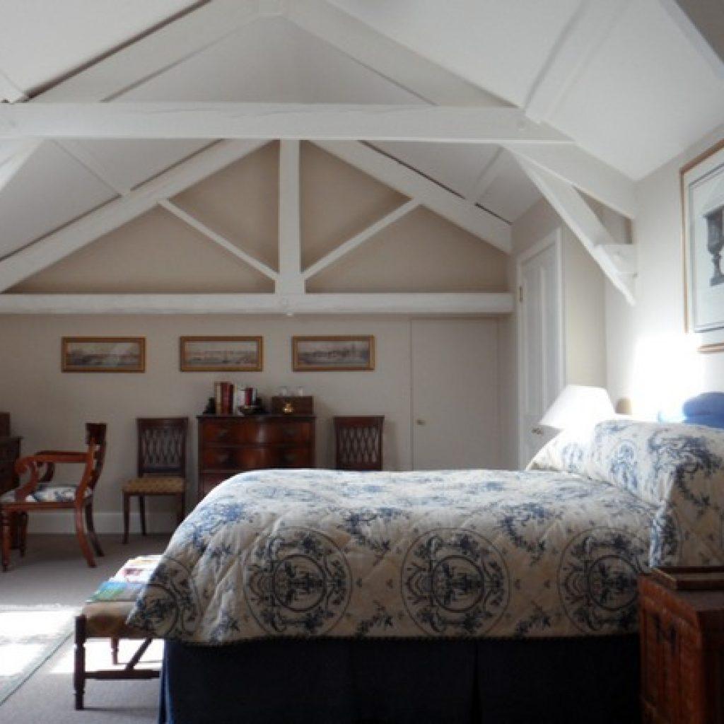 Restored Roof Beams Devon Builders