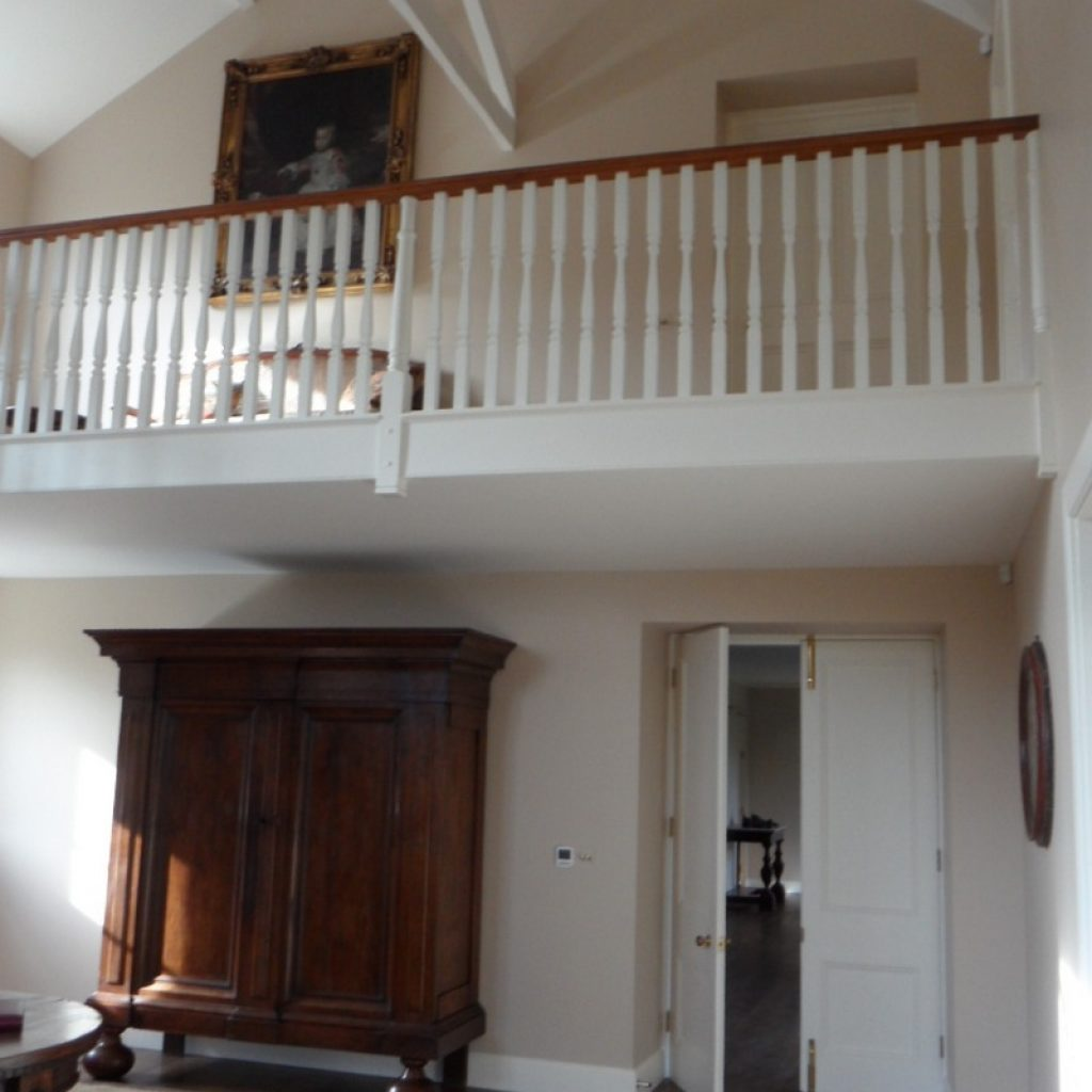 Restored Staircase Spindles Devon Builders