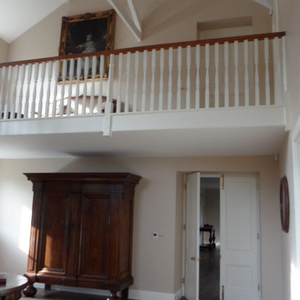 Restored Staircase Spindles Devon Builders