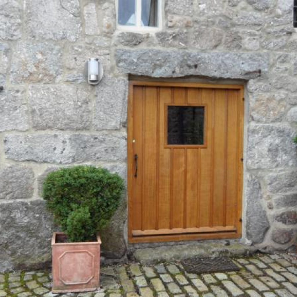 Solid Devon Oak Front Door Devon Builders Joinery