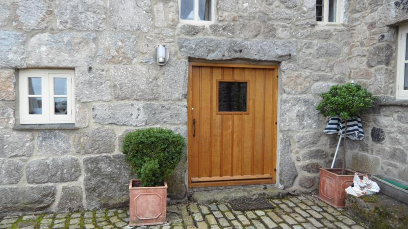 Solid Devon Oak Front Door Devon Builders Joinery