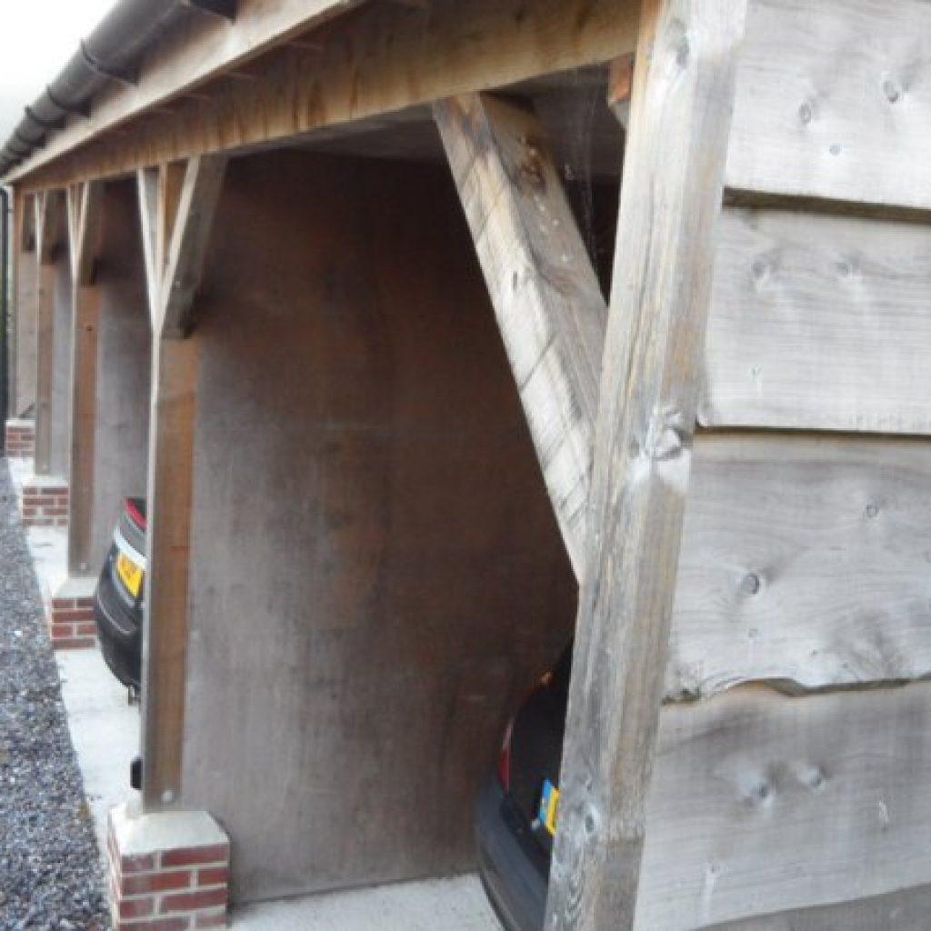 Traditional Oak Wood Carpentry Devon