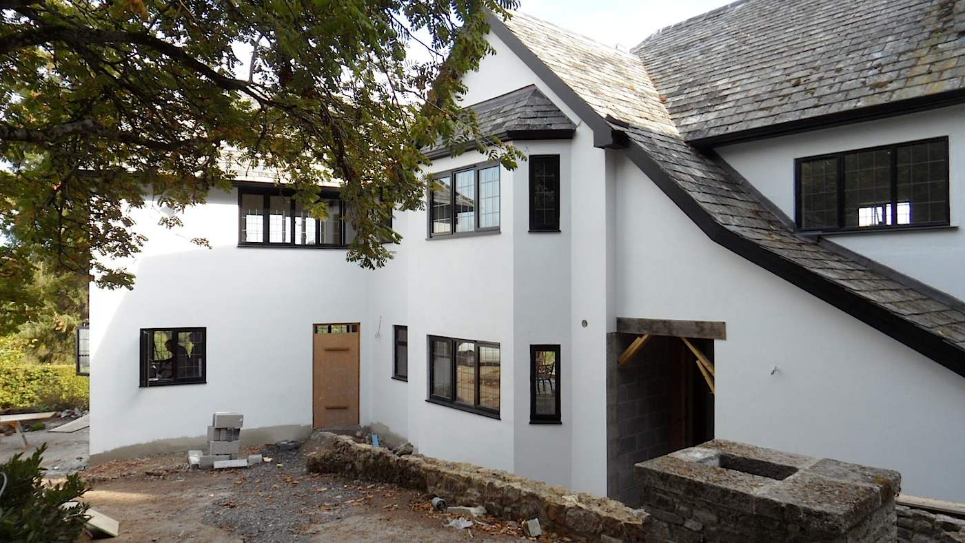 New Build House Bovey Tracy Devon Builders
